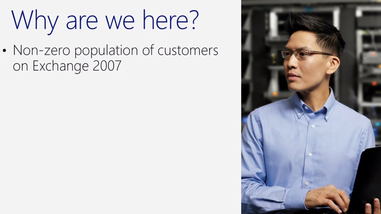 Moving from legacy on-premises Exchange: upgrade to Exchange 2016, or Exchange Online? - YouTube