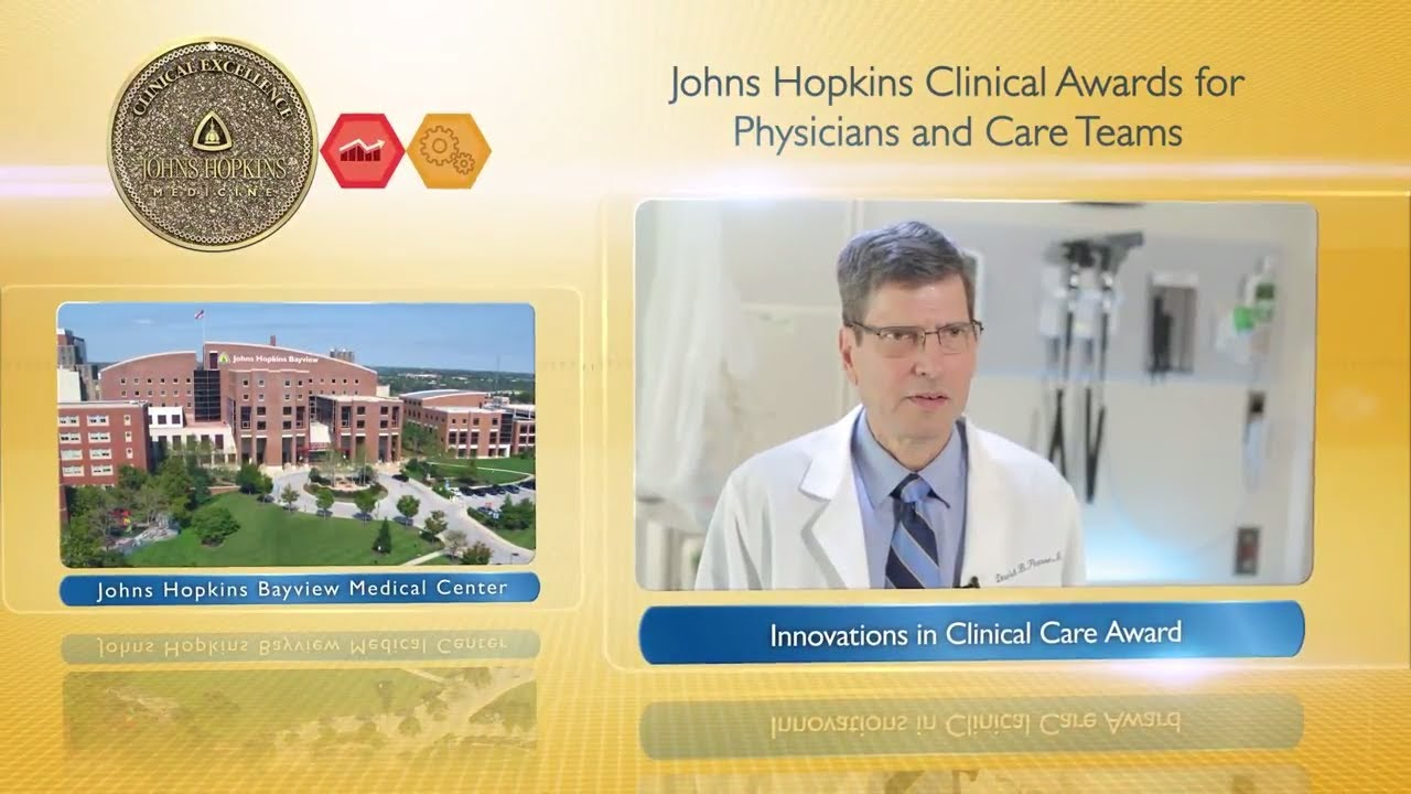 2017 Innovations in Clinical Care Award – David Pearse, M.D. and the STRIDE Program, JHBMC - YouTube