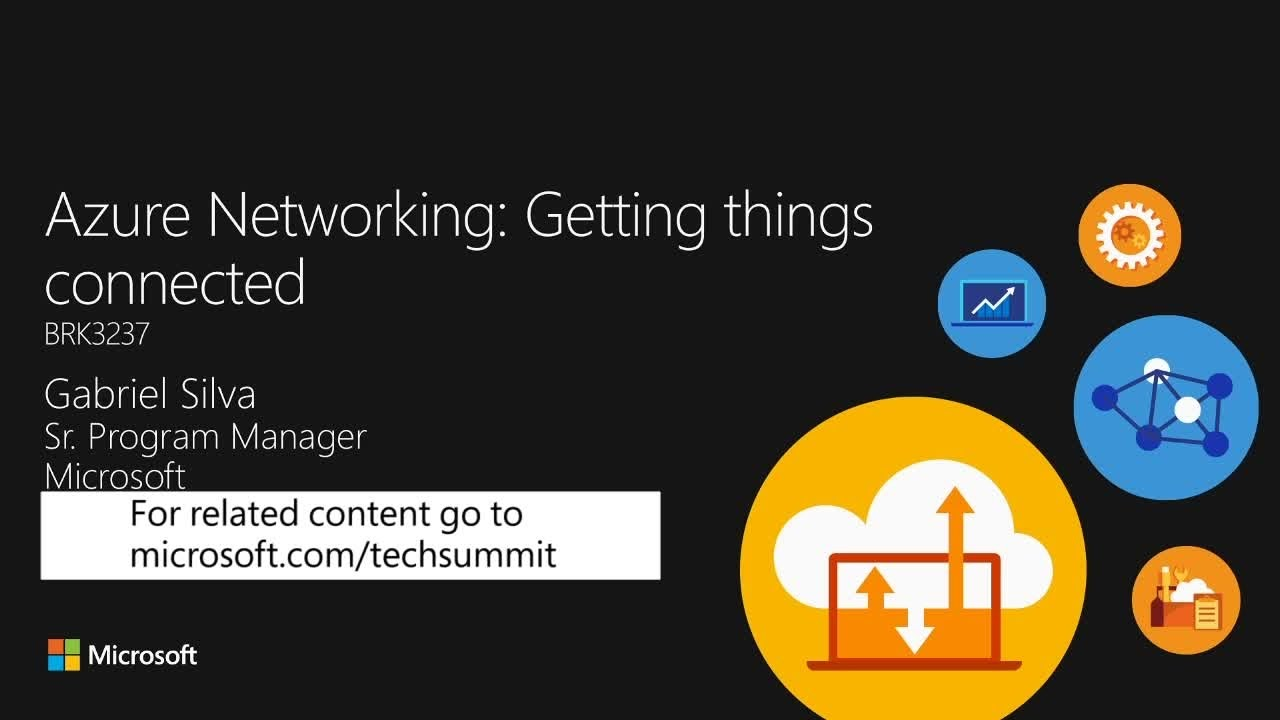 Microsoft Azure networking: getting things connected - YouTube