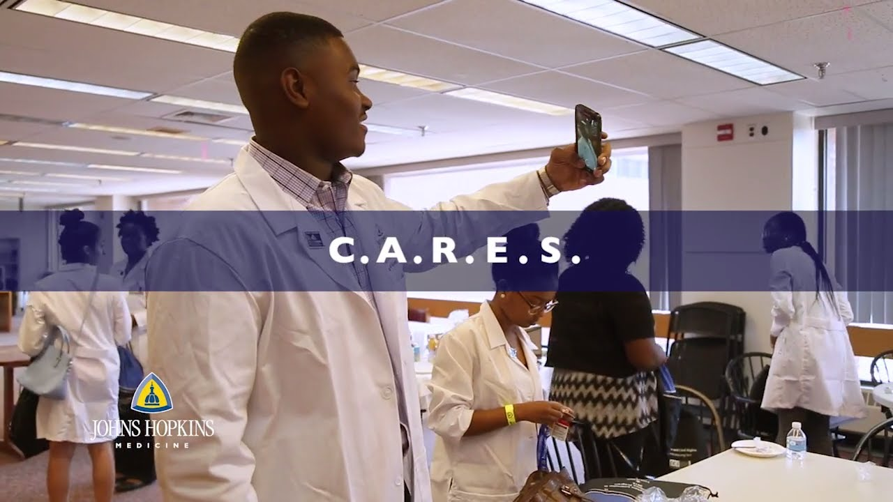 Johns Hopkins CARES | Preparing Students for Careers in Science, Public Health and Medicine - YouTube