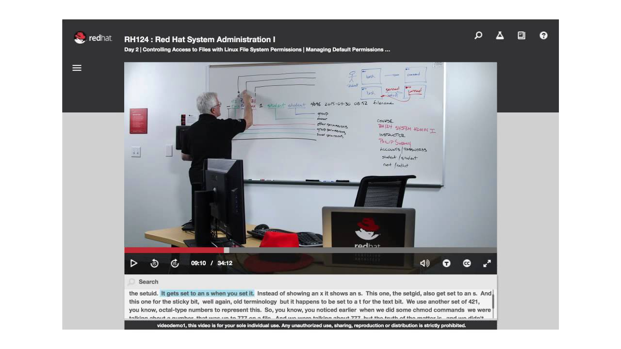Video Classroom: Red Hat Training's new way to train - YouTube