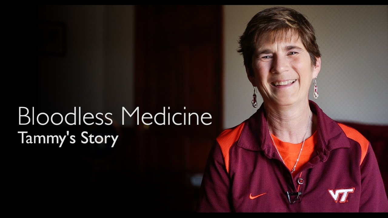 Bloodless Medicine | Tammy's Story - YouTube