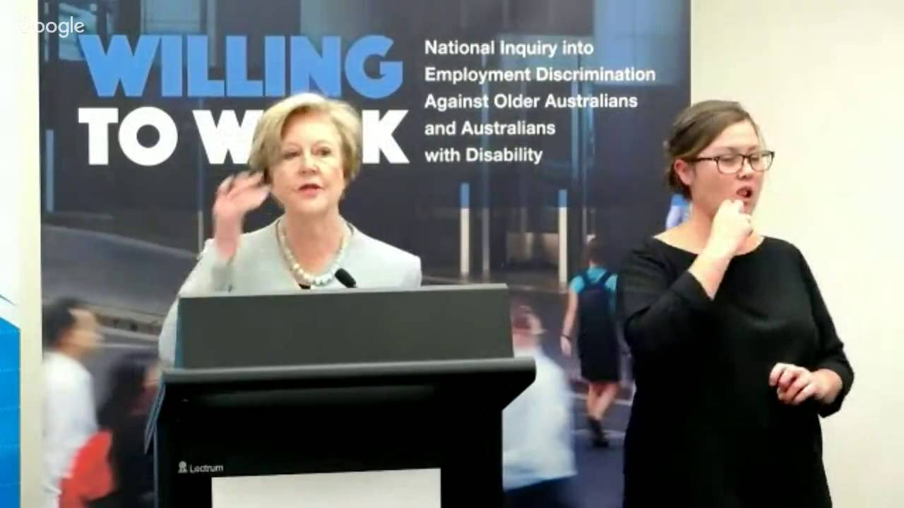 Willing to Work report launch - YouTube