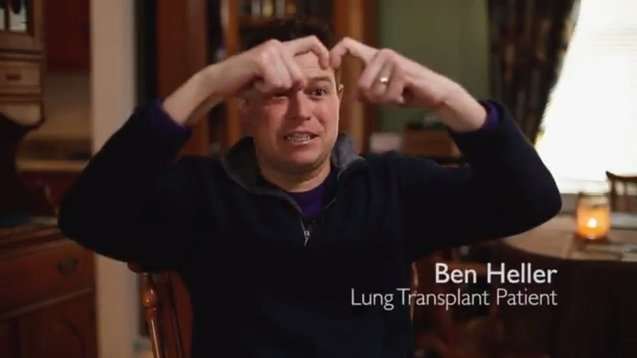 Bilateral Lung Transplant | Ben's Story - YouTube