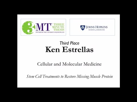 Three Minute Thesis Finals: Third Place Winner | Johns Hopkins Medicine - YouTube