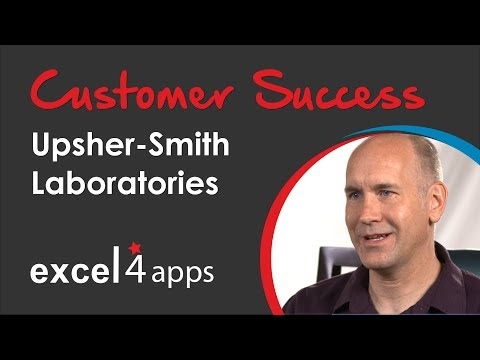Excel4apps, A GL Wand for SAP Case Study With Upsher-Smith