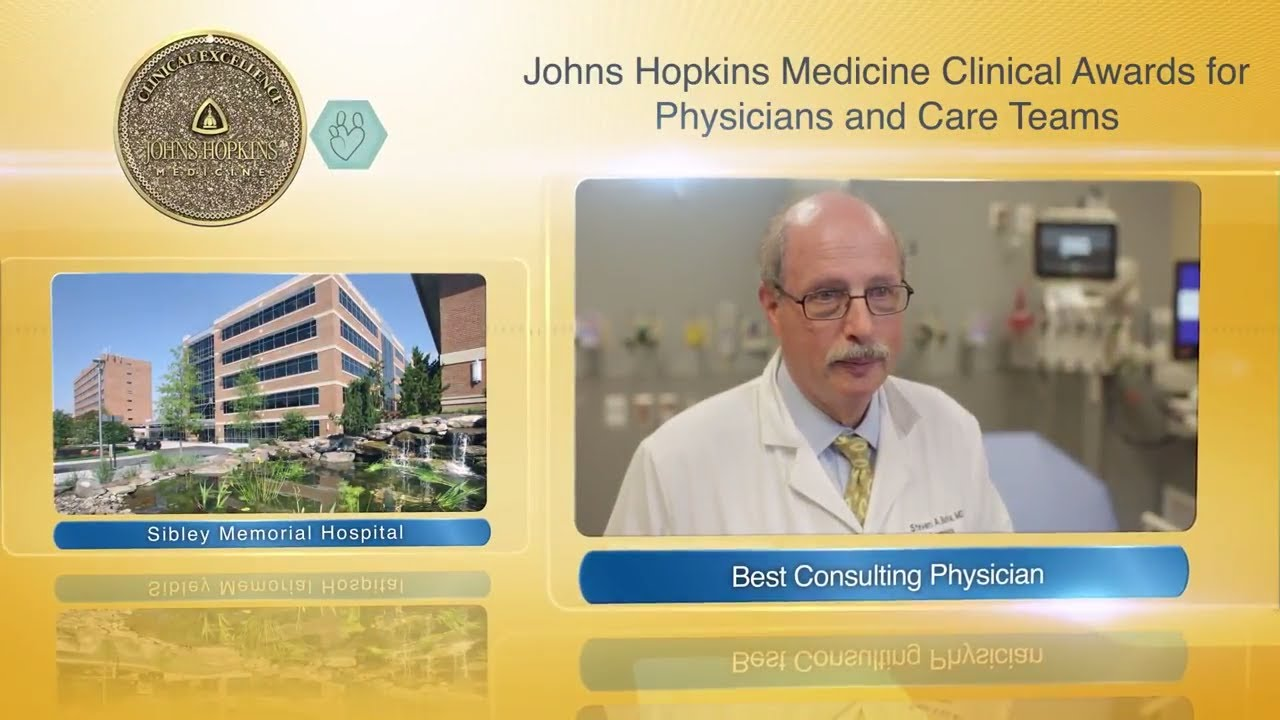 2017 Best Consulting Physician at Sibley Memorial Hospital – Steven Burka, M.D. - YouTube