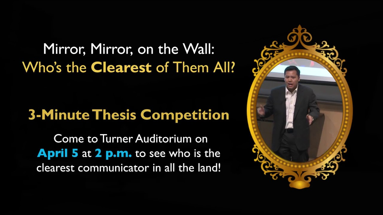 3-Minute Thesis Competition | Johns Hopkins University School of Medicine - YouTube
