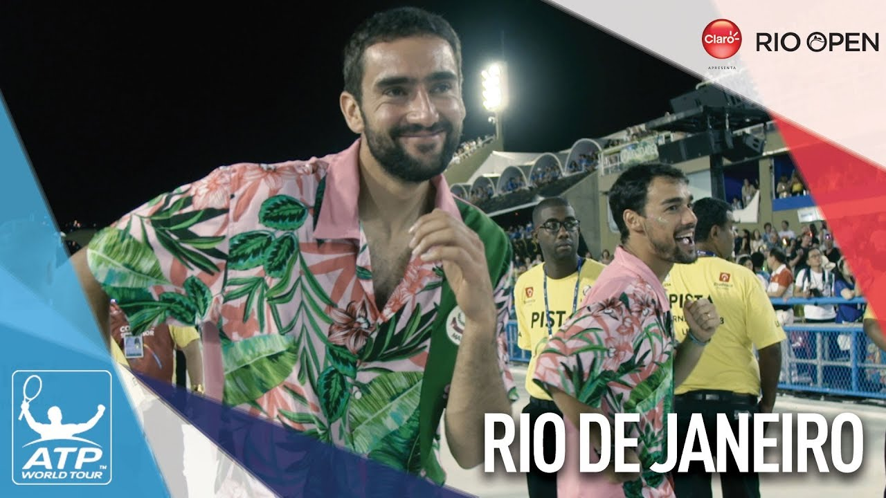 ATP World Tour Stars Take On Rio Carnival - YouTube