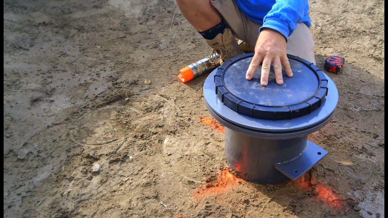 DIY Koi Pond Construction | Pond Bottom Drain Layout & Design - Part 10 - YouTube