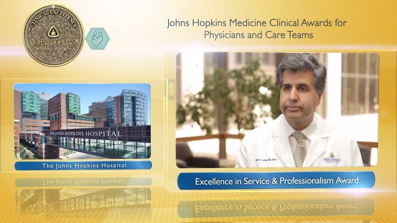 2017 Excellence in Service and Professionalism Award – Bimal Ashar, M.D., The Johns Hopkins Hospital - YouTube