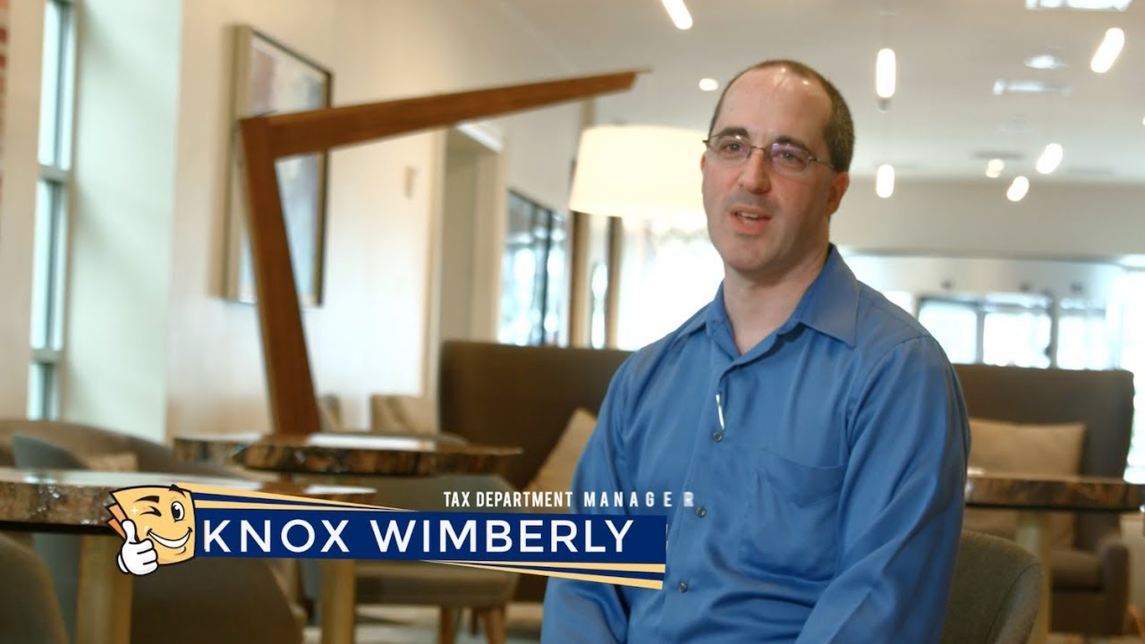 Knox Wimberly - Tax Department Manager - YouTube