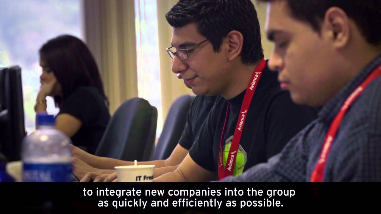 Avianca streamlines application integration - YouTube