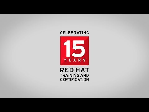 Celebrating 15 Years of Red Hat Training and Certification