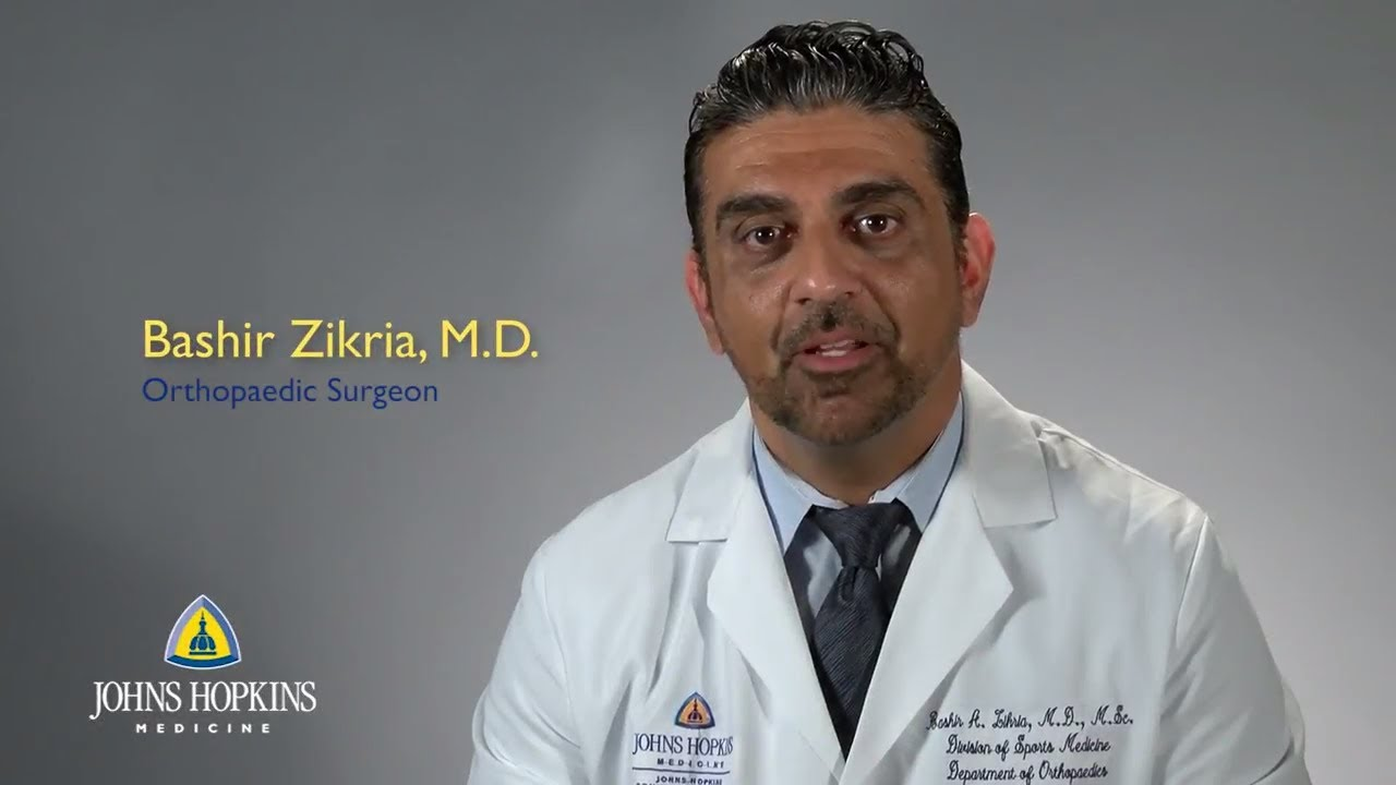 Dr. Bashir Zikria | Sports Medicine - YouTube