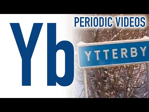 youtube ytterbium new version periodic table of videos