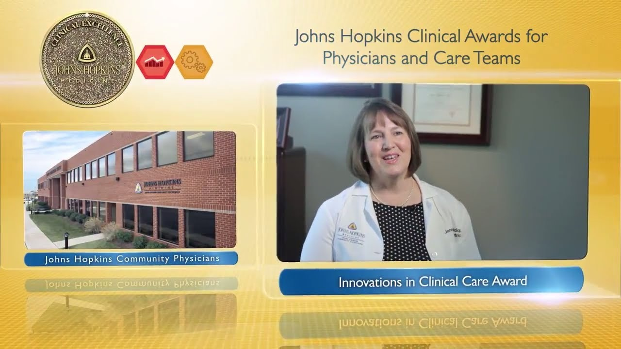 2017 Innovations in Clinical Care Award – Janet Siddiqui, M.D., Christy Baxter, R.N. & Odenton JHCP - YouTube
