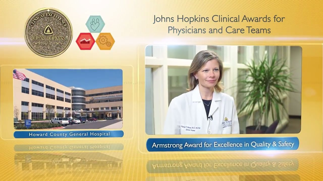 2017 Armstrong Award for Excellence in Quality and Safety – Hadley Wesson, M.D., M.P.H., HCGH - YouTube