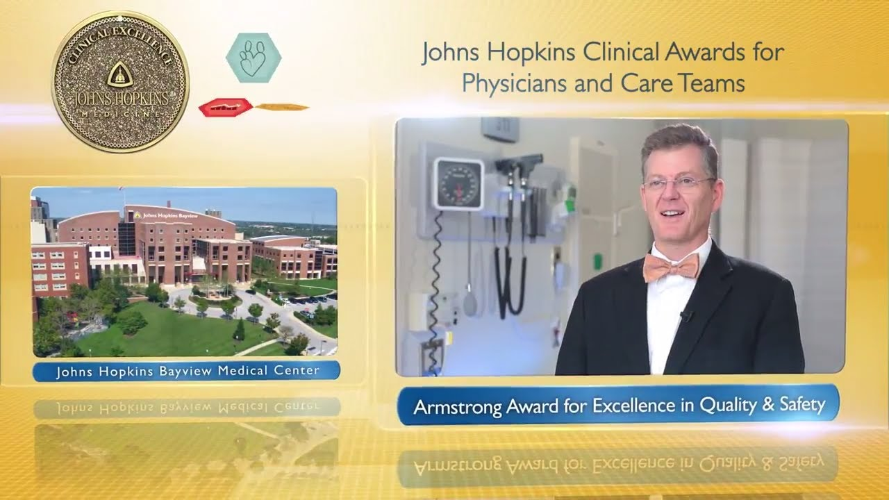 2017 Armstrong Award for Excellence in Quality and Safety – Eric Howell, M.D., JHBMC - YouTube
