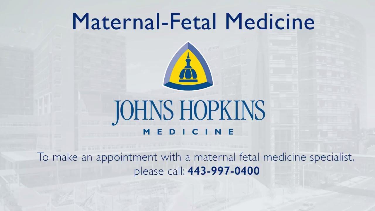 Johns Hopkins Division of Maternal Fetal Medicine Overview - YouTube