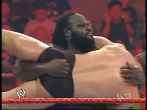 Mark Henry Hits The World's Strongest Slam On Cody Rhodes