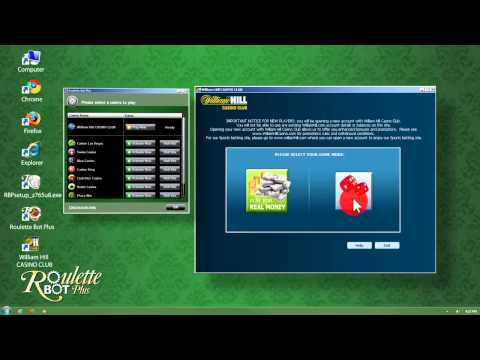 Roulette Bot Plus - How to activate a casino