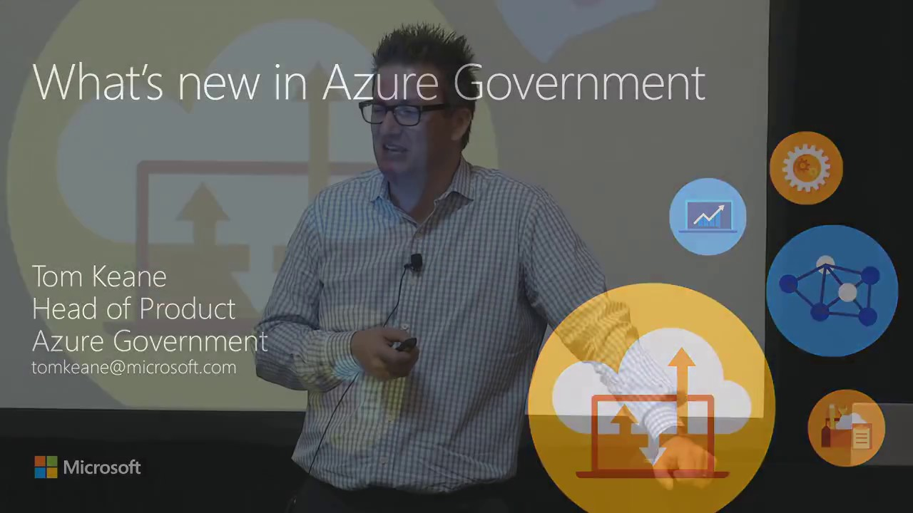 What's New in the Azure Government Cloud -- Gov and DOD (GOV) - YouTube