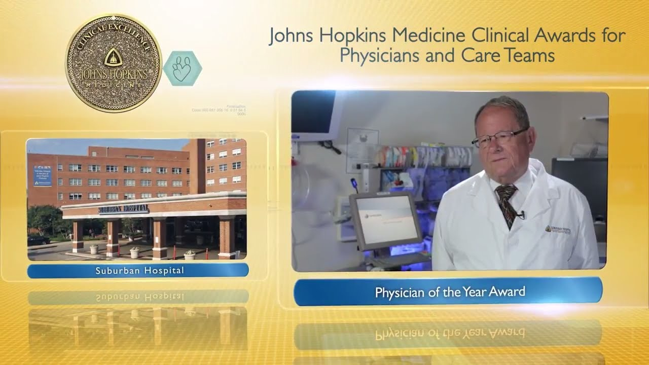2017 Physician of the Year – G. Peter Pushkas, M.D., Suburban Hospital - YouTube